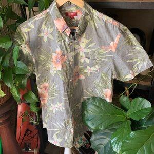 Arizona Jean company Hawaiian button down top